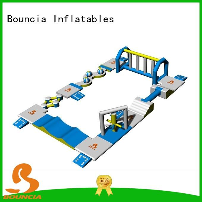 course inflatable mini water park manufacturer for pools Bouncia