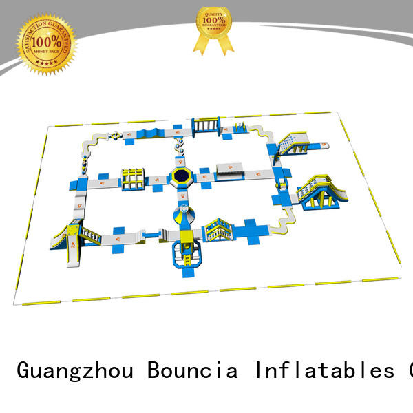 floating Custom bouncia water blow up water park Bouncia aquapark