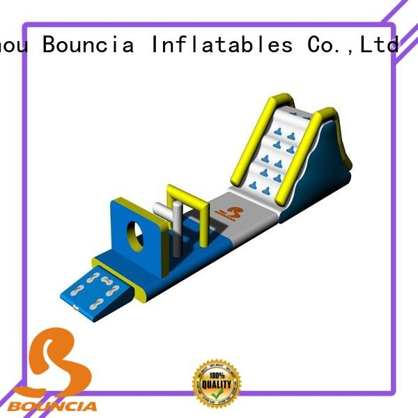 tarpaulin adults obstcale caps small inflatable water park Bouncia Brand