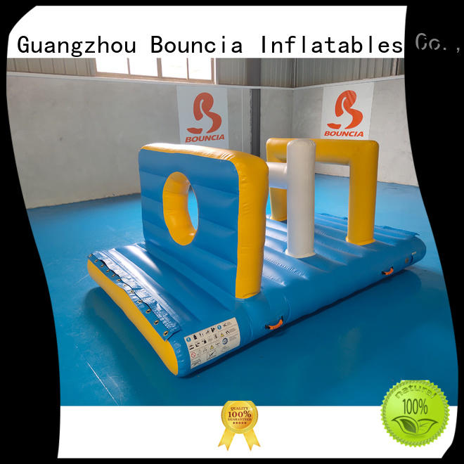 playground inflatable water games pillow top selling Bouncia company