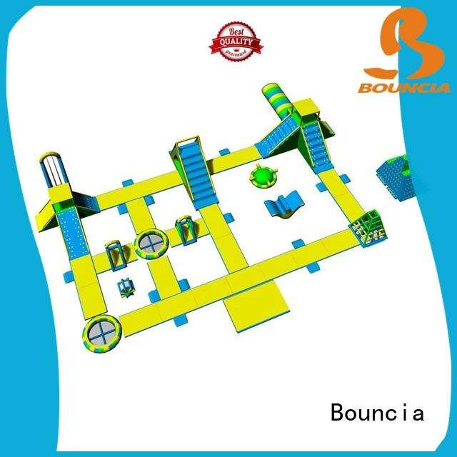 Bouncia certificated inflatable park company for kids