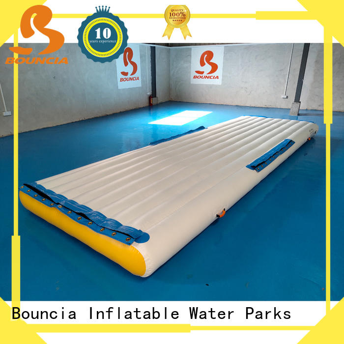 floating children's inflatable water park trampoline Supply for adults
