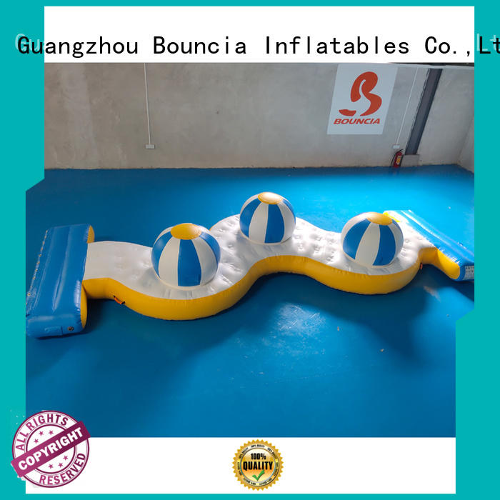 Bouncia Brand game obstcale inflatable factory waterpark supplier