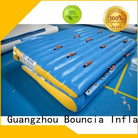 Bouncia Brand professional colum inflatable water games adult factory
