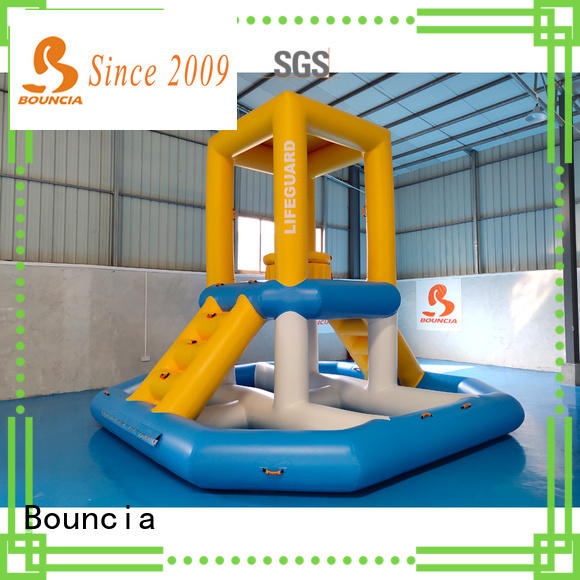 Bouncia awesome water slide games factory for pool