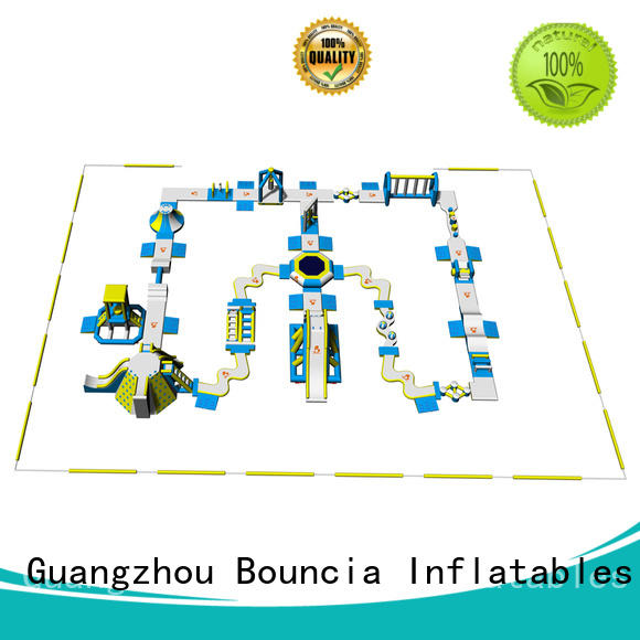 park floating OEM inflatable water park in stock Bouncia