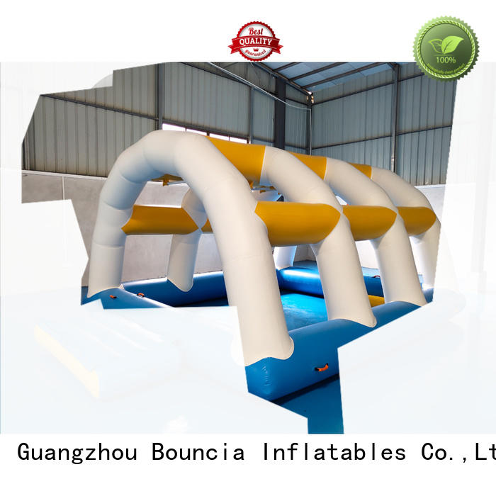 Bouncia Brand floating certiifcate inflatable factory game