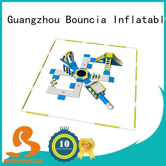 Bouncia big inflatable aqua park supplier for lake