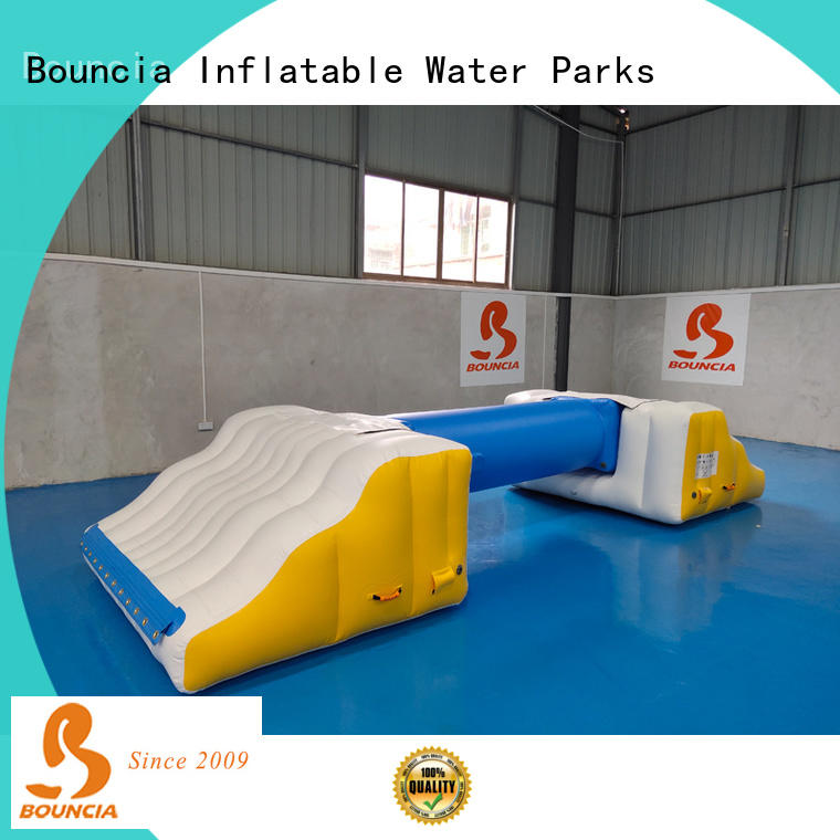 Bouncia Best inflatable floating slide for lake company for outdoors