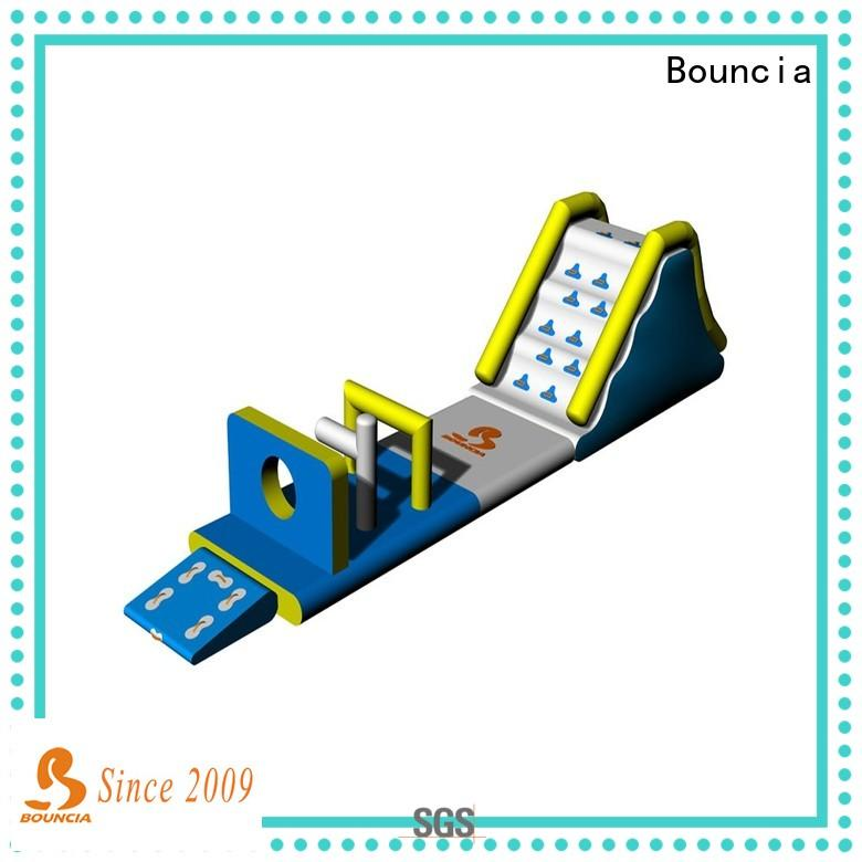 Bouncia durable inflatable floating water park for sale customized for kids