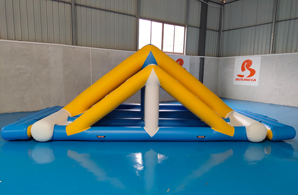 Bouncia -Water Park Games Double Ladder | Inflatable Water Obstacle Course-1