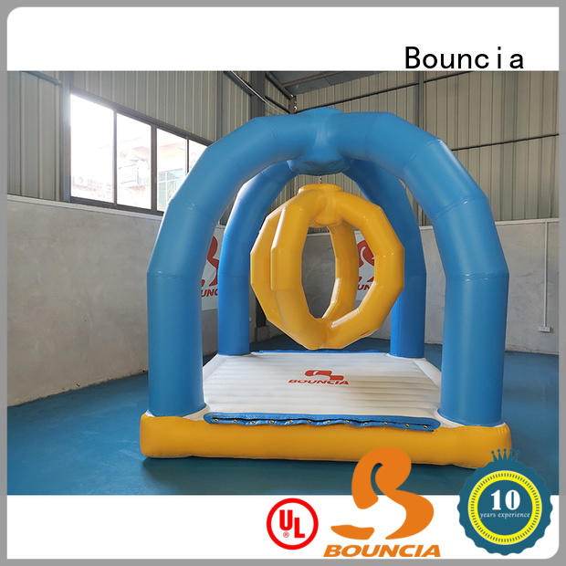 Bouncia climbing blow up water park directly sale for kids