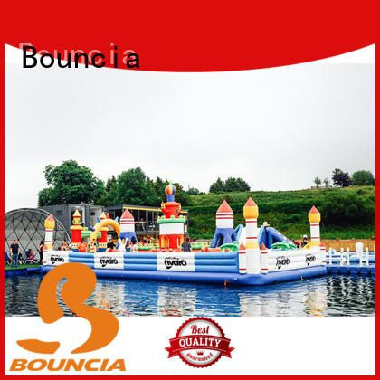 Bouncia inflatable water slide park factory for children