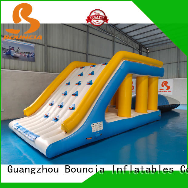 Bouncia tuv water park for sale customized for pool