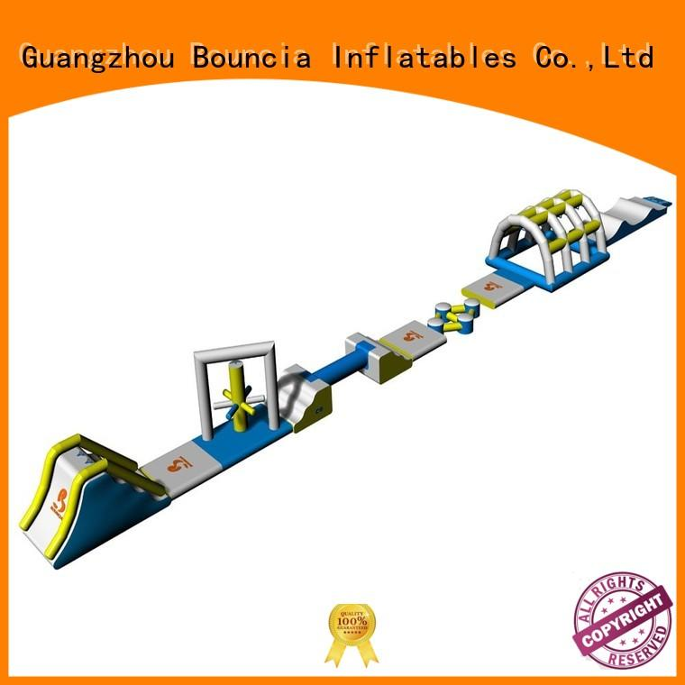 hot sale inflatable floating water park park Bouncia company