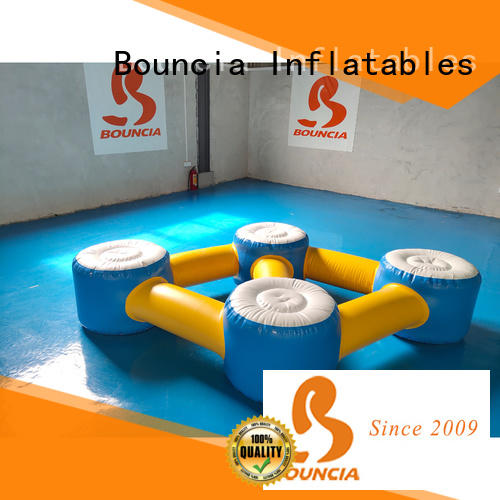 Bouncia awesome floating water sports for business for adults