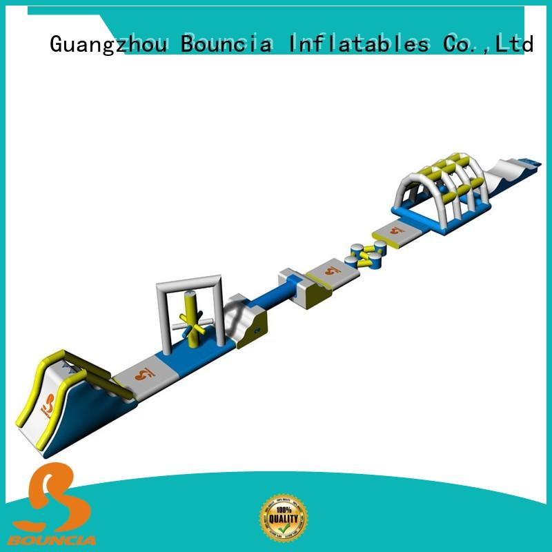 Bouncia floating outdoor inflatable water slide directly sale for kids