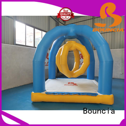 Bouncia mini games water obstacle course for sale manufacturer for outdoors