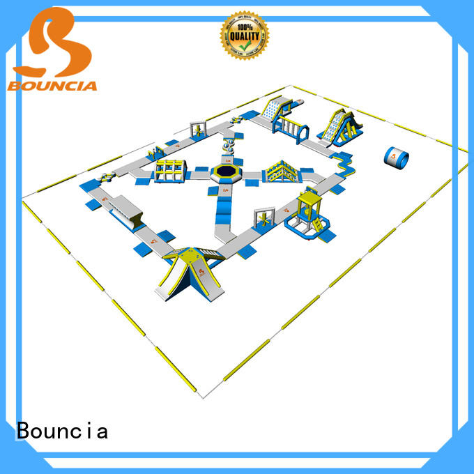 large lake inflatables bouncia supplier for outdoors