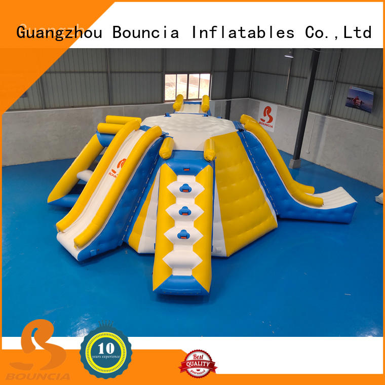 durable inflatable water play trampoline factory for kids