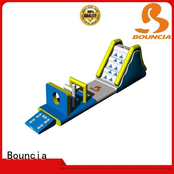 Bouncia certificated aqua inflatables manufacturer for pools