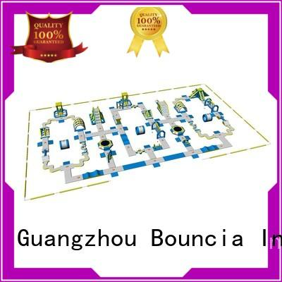 inflatable water park for adults tower funny business Bouncia Brand giant inflatable