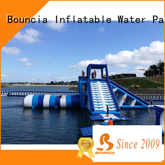 Bouncia guard tower inflatable water slides for sale Suppliers for adults
