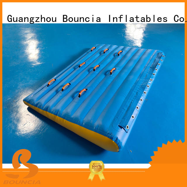 Bouncia Brand trampoline obstcale tuv inflatable water games manufacture