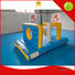 inflatable factory obstacle exciting adults Bouncia Brand inflatable water games