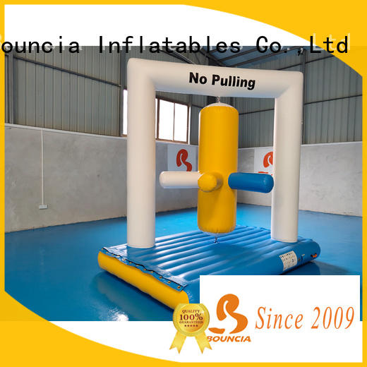 Bouncia floating lake inflatables manufacturers for kids