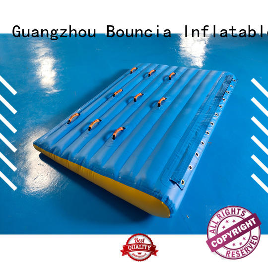 Custom floating inflatable water games inflatable Bouncia