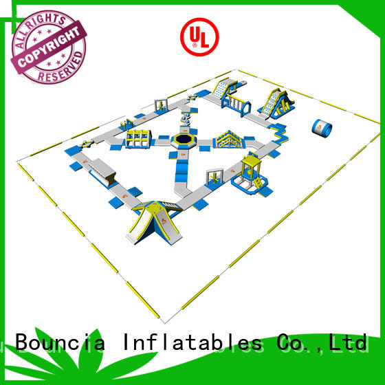 splash big inflatable water park in stock bouncia for lake Bouncia