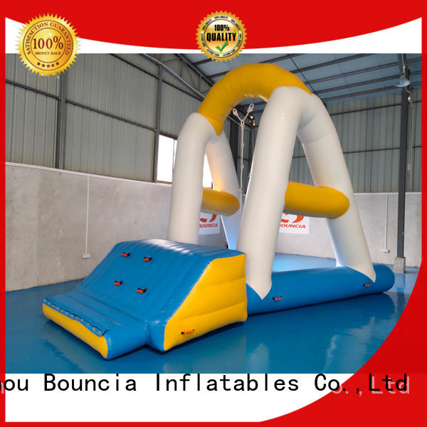 inflatable factory ramp exciting inflatable water games Bouncia Brand