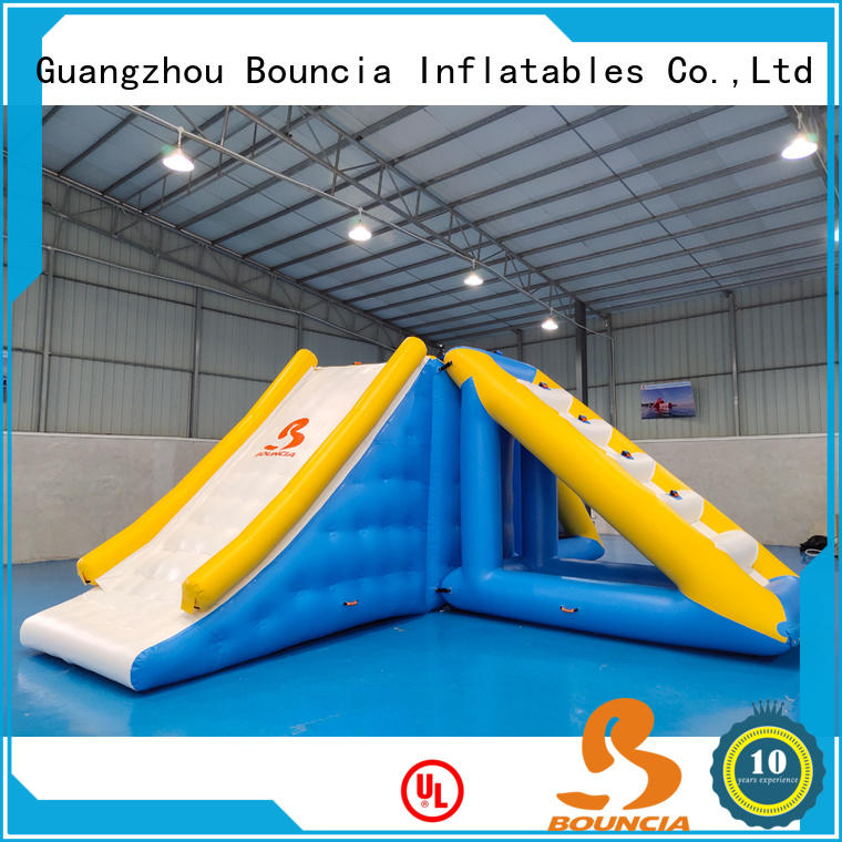 Bouncia certificated best water parks from China for outdoors