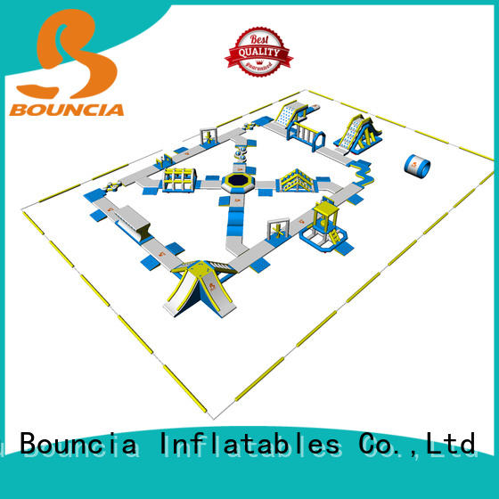 inflatable equipment inflatable water park in stock Bouncia Brand