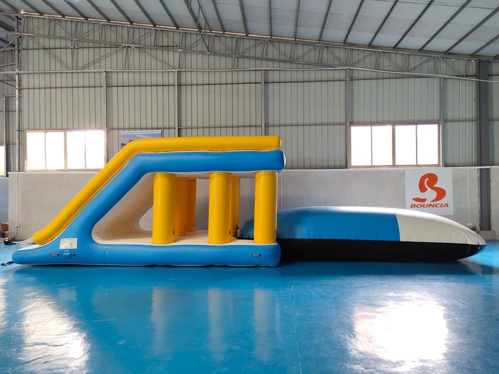 High-quality floating inflatable obstacle course pvc customized for pool-2