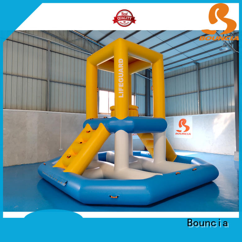 Bouncia one station inflatable lake floats manufacturer for adults