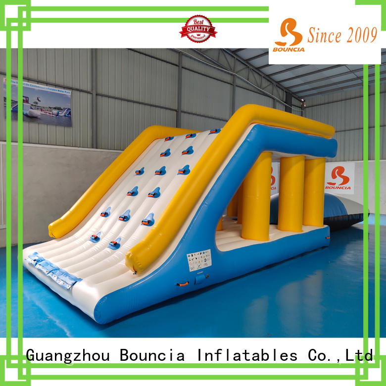 Bouncia Latest inflatable water park games manufacturers for pool