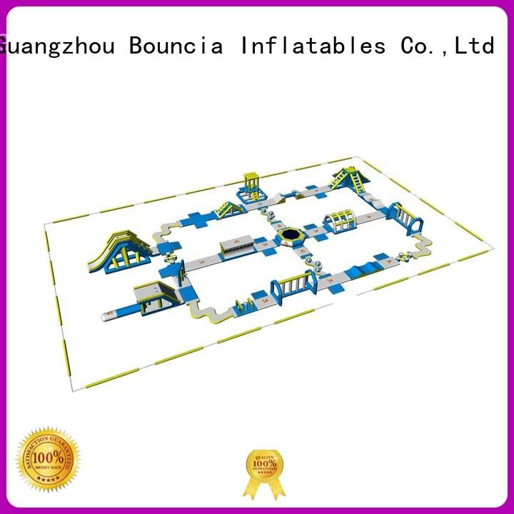 toys inflatable float ramp playground Bouncia Brand