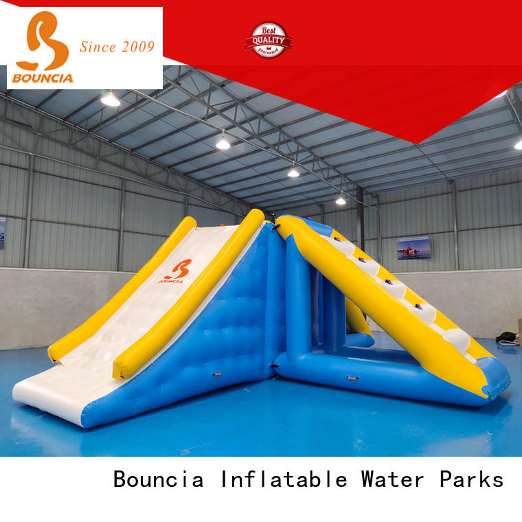 Bouncia certificated inflatable water park company for outdoors