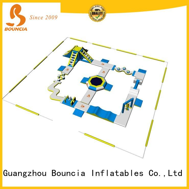 Bouncia floating inflatable water playground factory price for kids