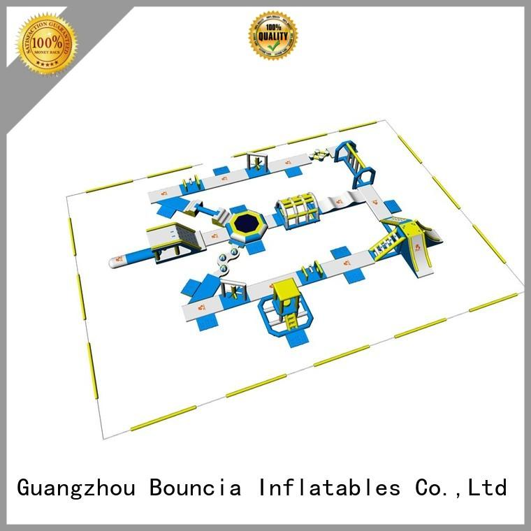 inflatable float sport Bouncia Brand blow up water park