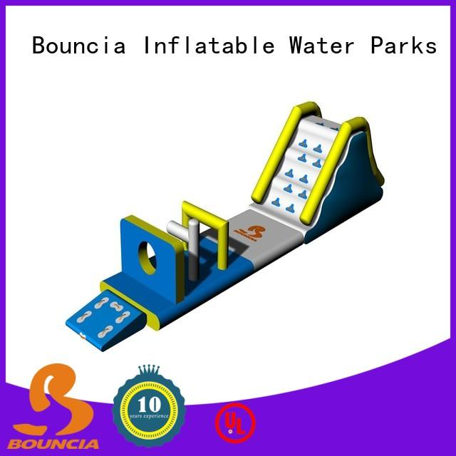 Bouncia certificated inflatable world water park Suppliers for pools