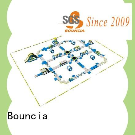 Bouncia certificated giant inflatable slide from China for kids