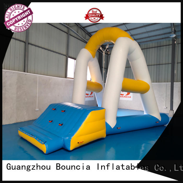 course inflatable water obstacle course series for pool