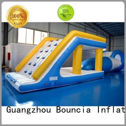 Hot business inflatable water games game adult Bouncia Brand