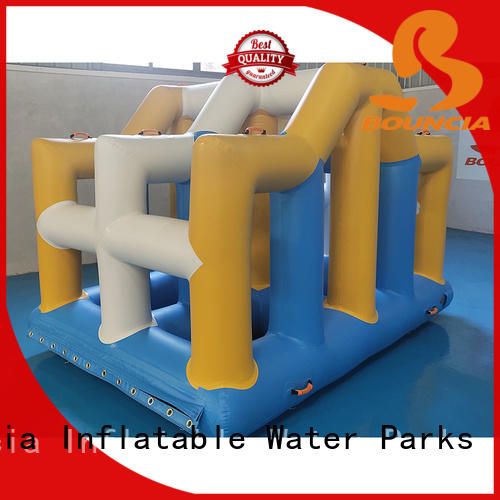 stable inflatable water park jump manufacturer for pool