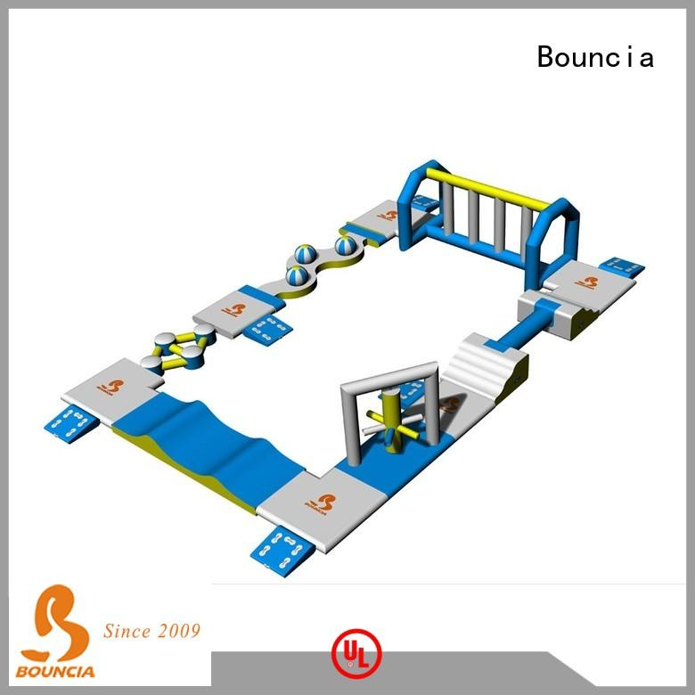floating inflatable water park for adults slide customized for pools