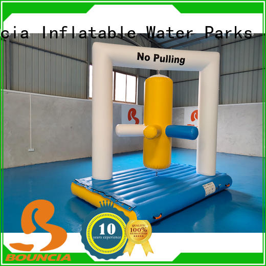 Bouncia stable inflatable backyard water park customized for outdoors