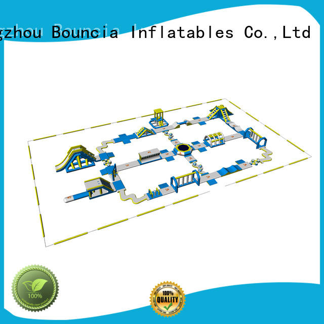 Wholesale sale splash inflatable water park in stock Bouncia Brand